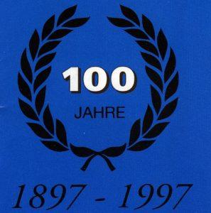 Logo zum 100jähriges bestehen